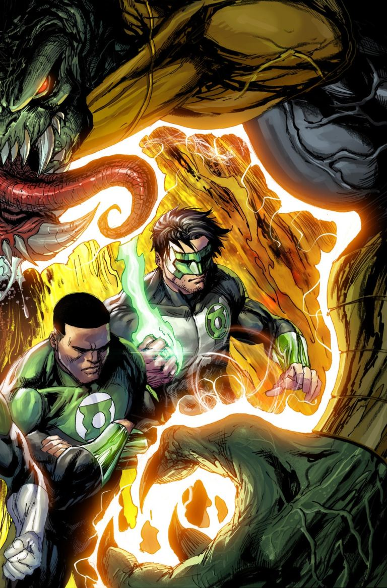 hal jordan and the green lantern corps #49 (cover b tyler kirkham)