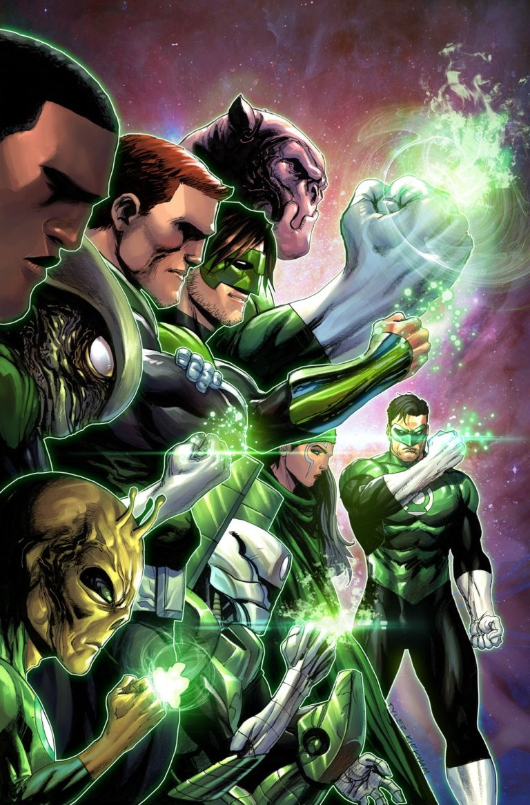 hal jordan and the green lantern corps #50 (cover b tyler kirkham)