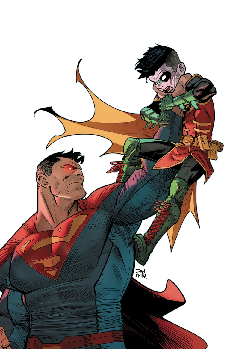 Adventures Of The Super Sons #6 (Dan Mora Cover)