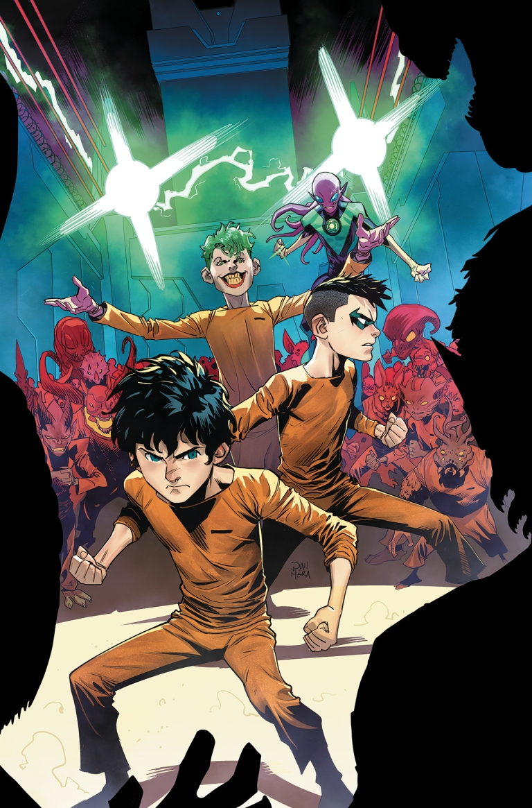 Adventures Of The Super Sons #7 (Dan Mora Cover)