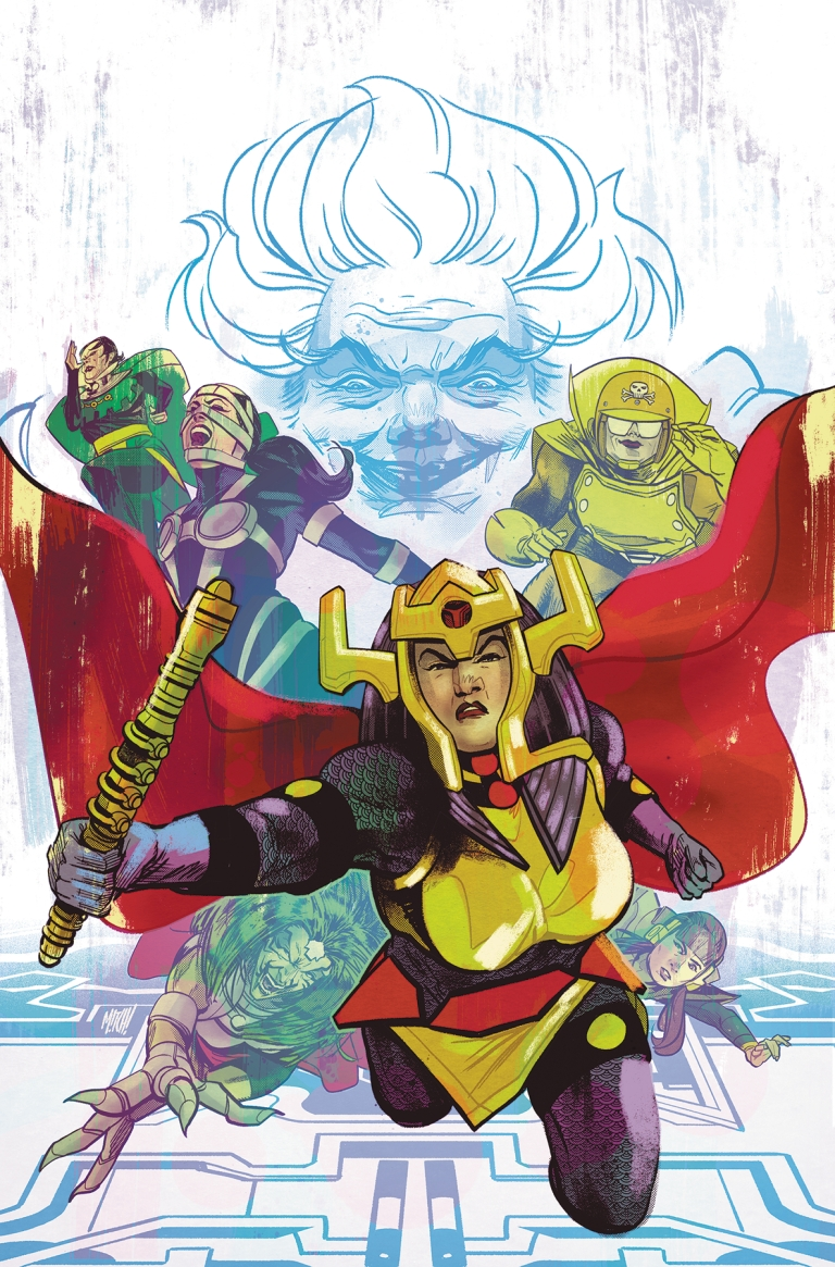 Female Furies #1 (Cover A Mitch Gerads)